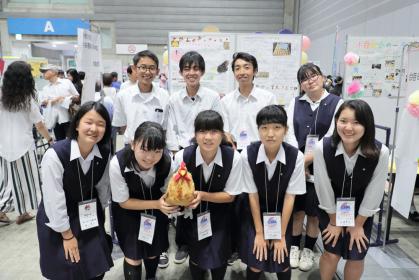 神奈川県 神奈川県立中央農業高等学校 養鶏部