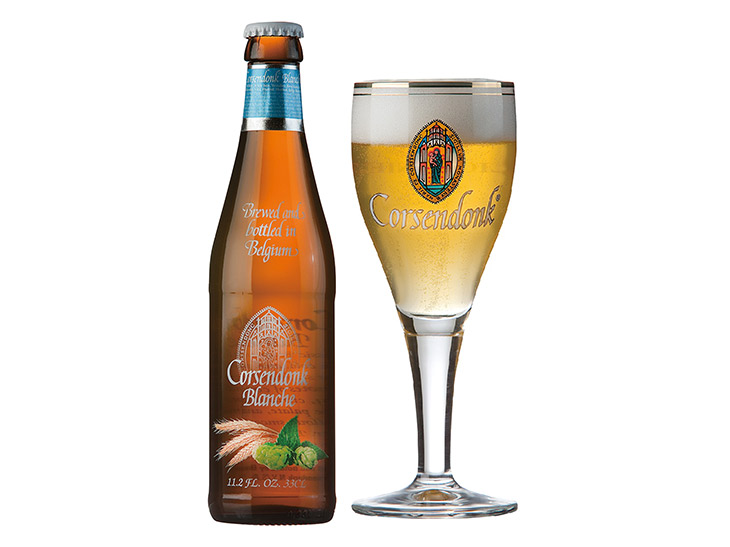 コルセンドンク・ブロンシュ ホワイト・ビール ALC. 4.8%(コイン3枚)