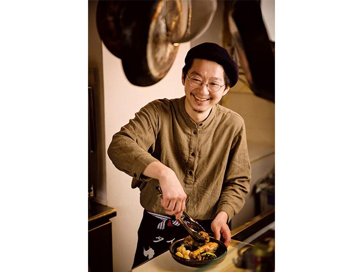 店主の松岡悠さんは、三軒茶屋のビストロ『uguisu』に10年在籍