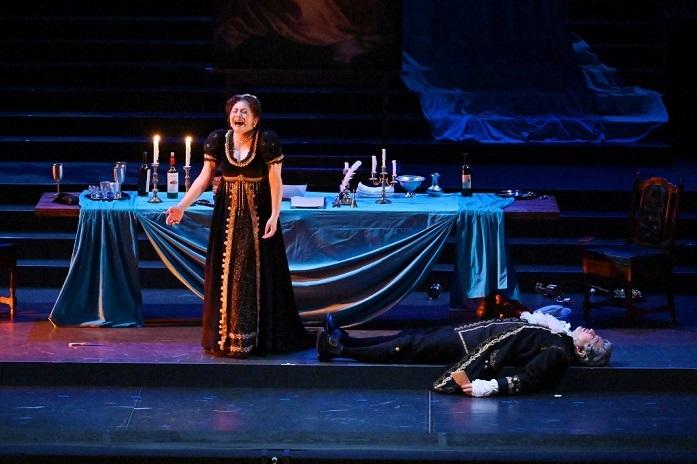 昨年のみつなかオペラ「トスカ」のタイトルロールで、文化庁芸術祭大賞を受賞した並河寿美
