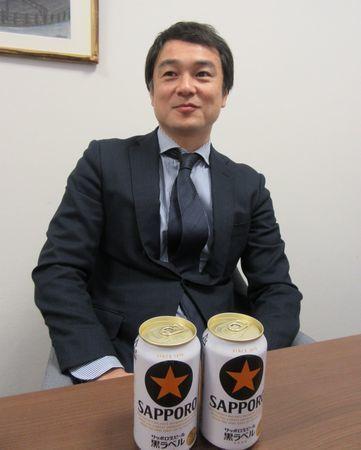 「黒ラベル」マーケティング担当の田邊氏