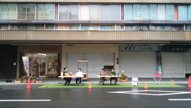 2018年ソトノバで実施したPark(ing)day2018沼津