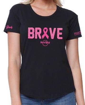 Ladies Pinktober Brave T-shirt