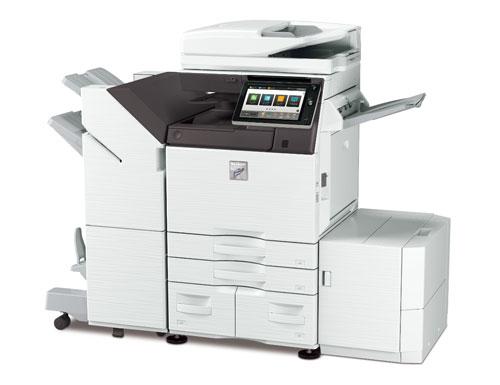 デジタル複合機<MX-M6071> ●写真はオプション装着時
