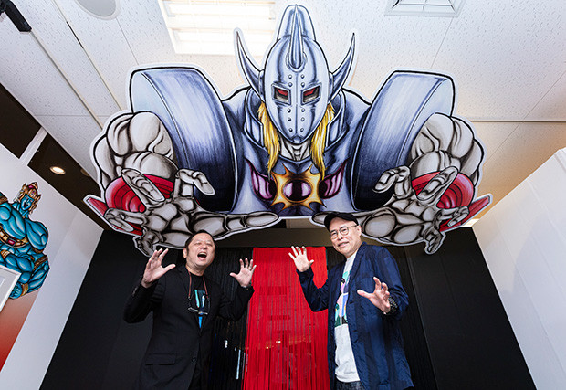 「キン肉マン 友情の40周年展」大阪会場にゆでたまご両先生、顕現!!