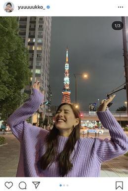 新 木 優子 instagram