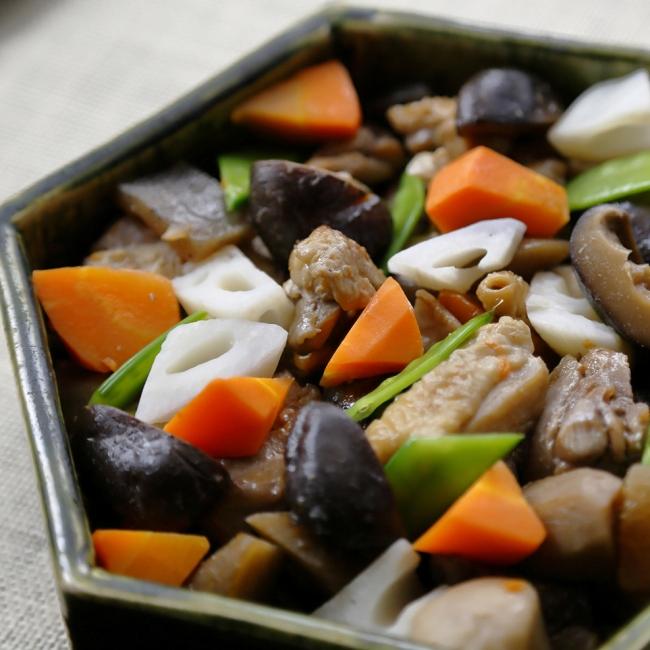 鶏肉と根菜のがめ煮