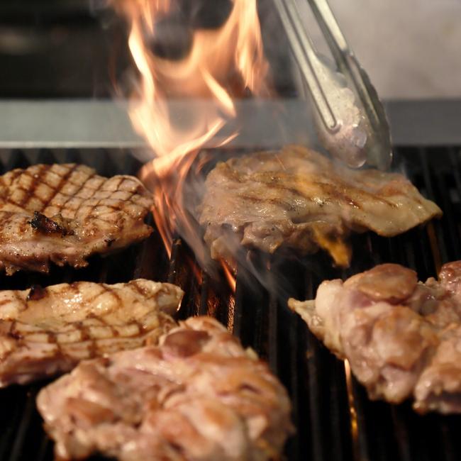 宮崎若鶏もも肉の炙り焼き
