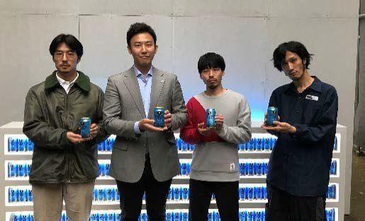 左からwakuさん、サントリービール 高田氏、橋本知成さん、takakahnさん