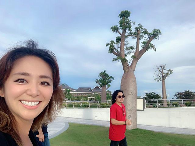 ラジオDJと街歩き。バオバブの木はどうやらリッチな王様がお取り寄せしたらしい!?