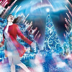 """ユニバーサル・スタジオ・ジャパン""""ユニバーサル・クリスタル・クリスマス2019"""""""