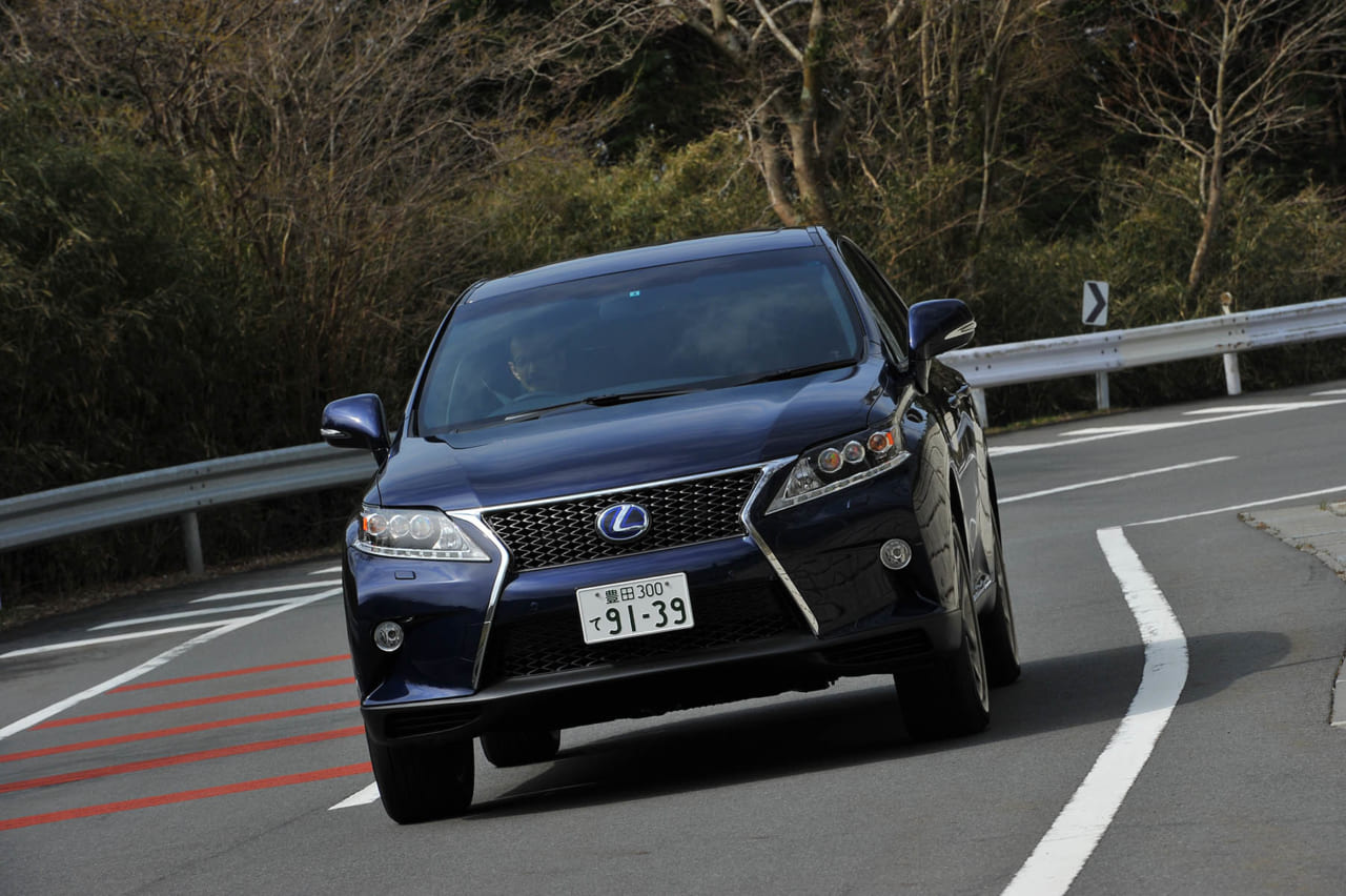 レクサス RX 10系 後期 2012 2013 2014 2015 中古 試乗 ノーマル