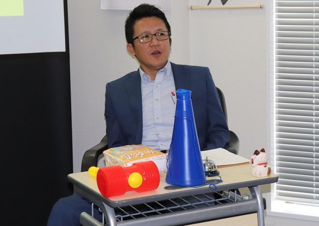 社長役のWITS取締役近藤貴氏