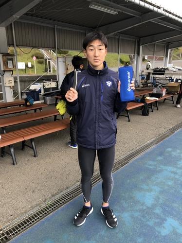 箱根駅伝出場予定廻谷選手(日体大)