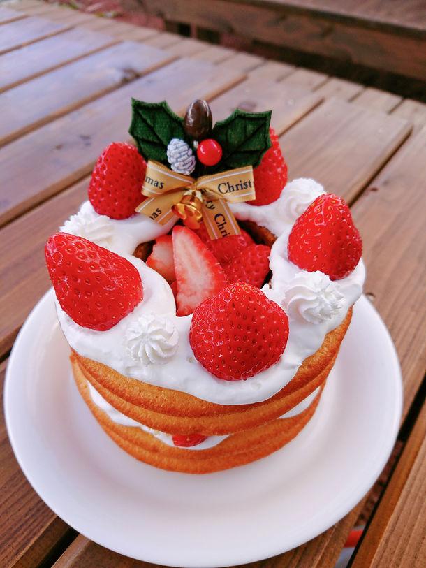 Partyケーキ作り