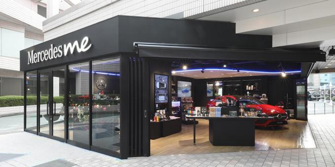 メルセデス・ベンツのブランド発信拠点「Mercedes Me」が品川プリンスホテルに期間限定オープン