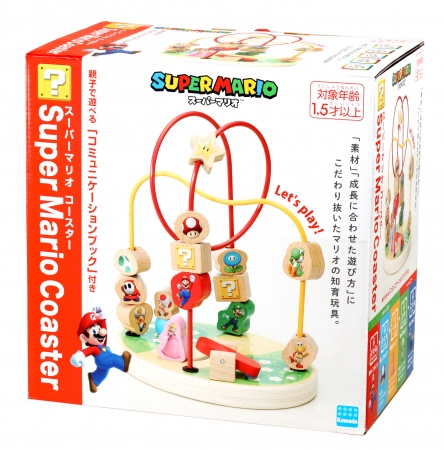 「Super Mario Coaster  (スーパーマリオ コースター)」  3,800 円(税別)