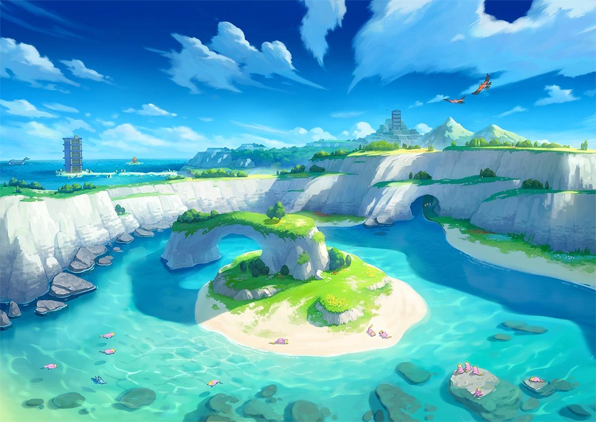 ヨロイじま (c)2020 Pokémon. (c)1995-2020 Nintendo/Creatures Inc. /GAME FREAK inc.