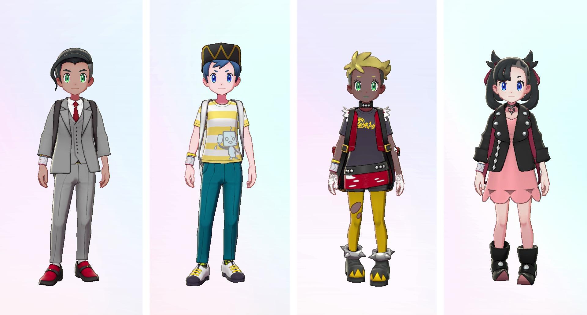 着せ替え※画面は開発中のものです。 (c)2020 Pokémon. (c)1995-2020 Nintendo/Creatures Inc. /GAME FREAK inc.