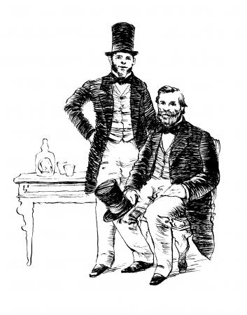 19世紀、パイオニアとしてウイスキーブレンディング技術を芸術の域にまで高めたシーバス兄弟