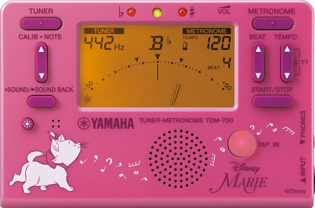ヤマハ チューナーメトロノーム『TDM-700DMRE』