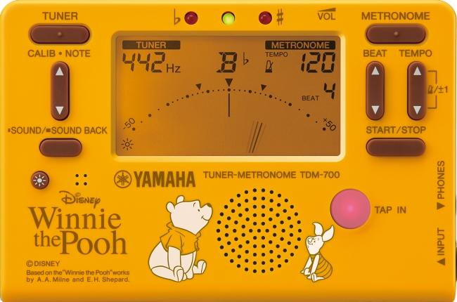 ヤマハ チューナーメトロノーム『TDM-700DPO4』