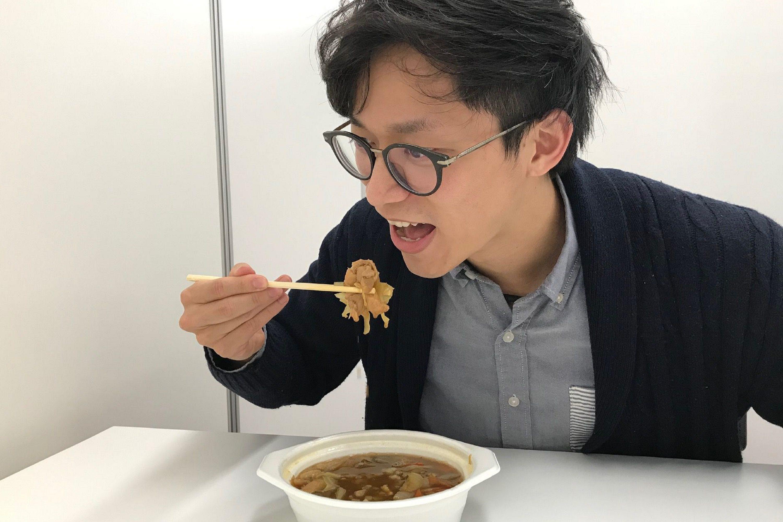 鶏味噌鍋(ふふふふ記者)