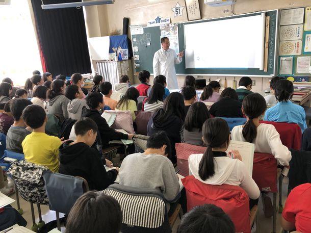 2019/11/21 座学の様子(NPO日本養殖振興会)
