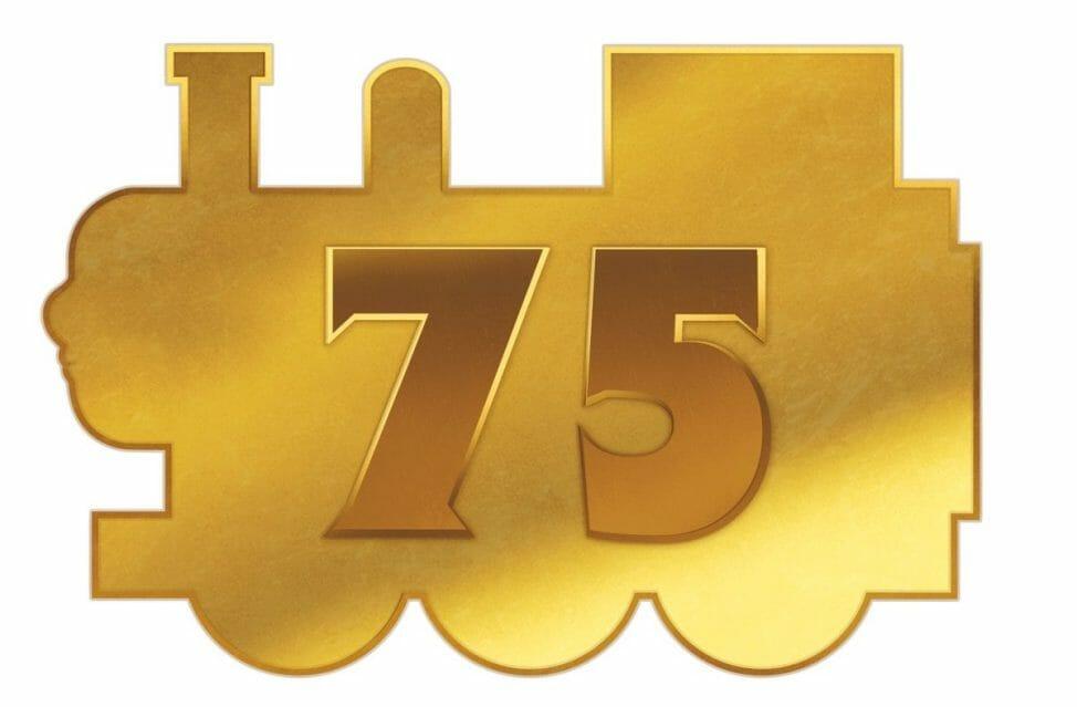 きかんしゃトーマス原作誕生75周年ロゴ