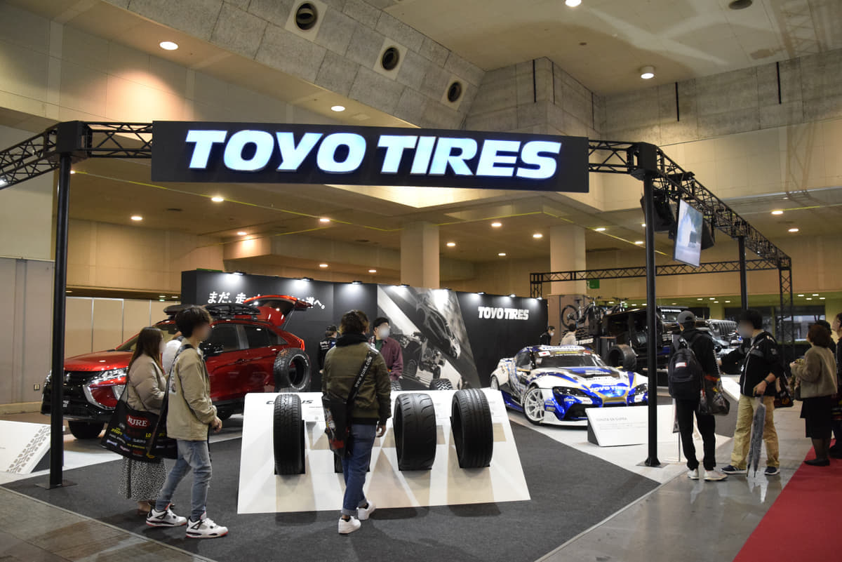TOYO TIRESが提案する新感覚オフロードタイヤ!舗装路での静粛性と悪路走破性を両立【大阪オートメッセ2020】