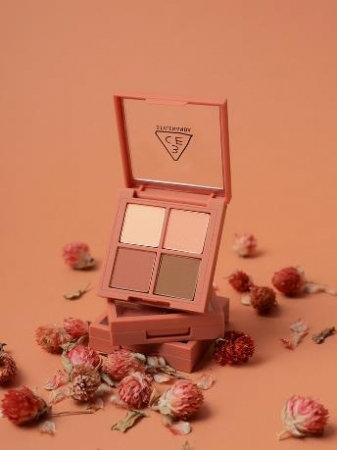 3CE MINI MULTI EYE COLOR PALETTE #ROSE LATTE