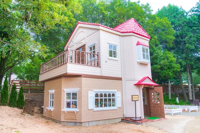 赤い屋根の大きなお家