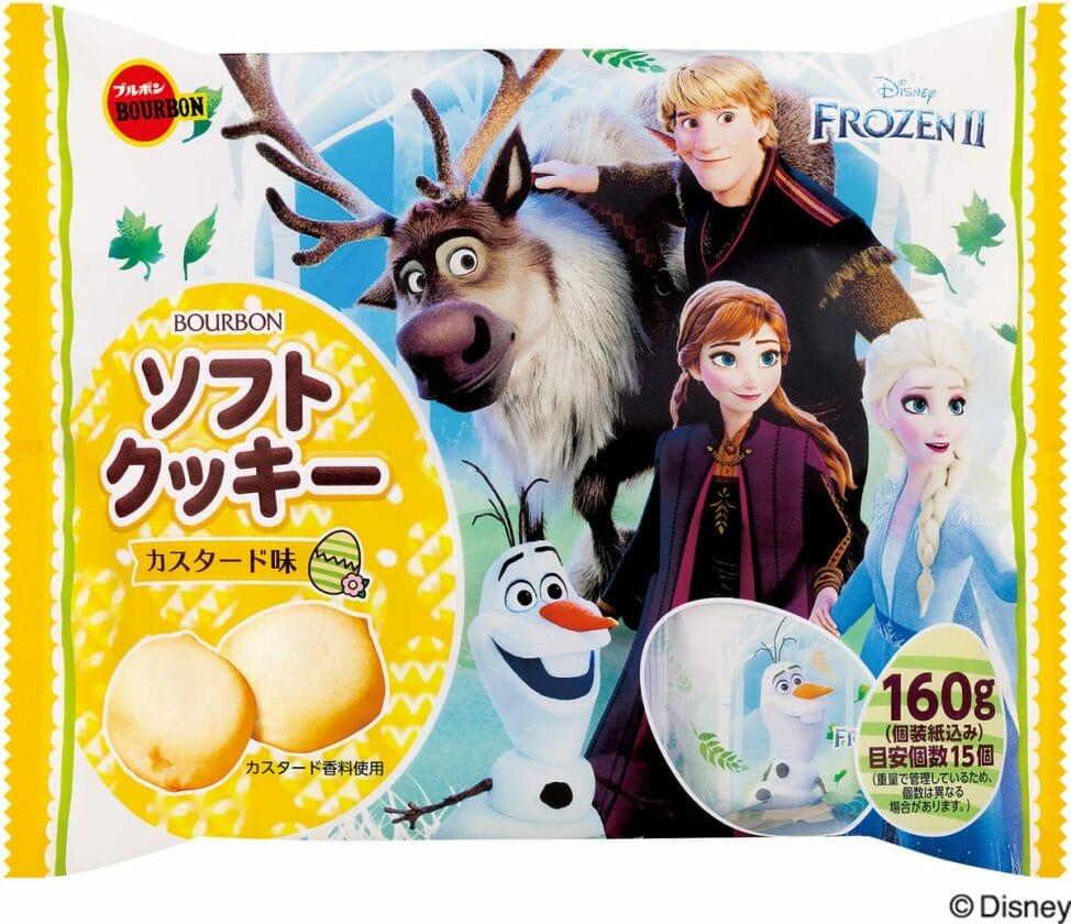 ソフトクッキーカスタード味(アナと雪の女王)