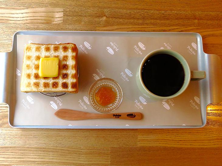 「炭焼きトーストセット」650円