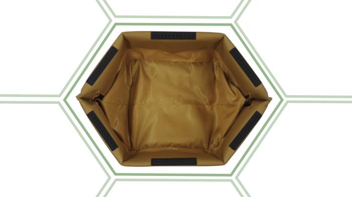 6角形による安定性【Chairbag】