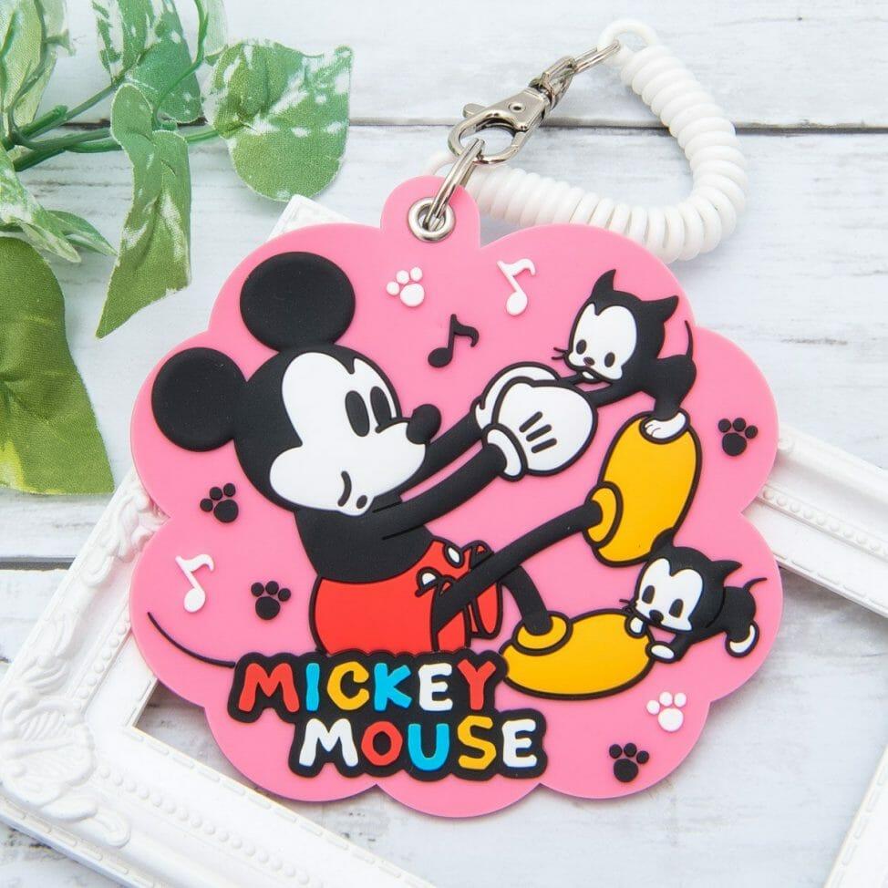 アイアップ ディズニー「ラバーパスケース」ミッキーマウス