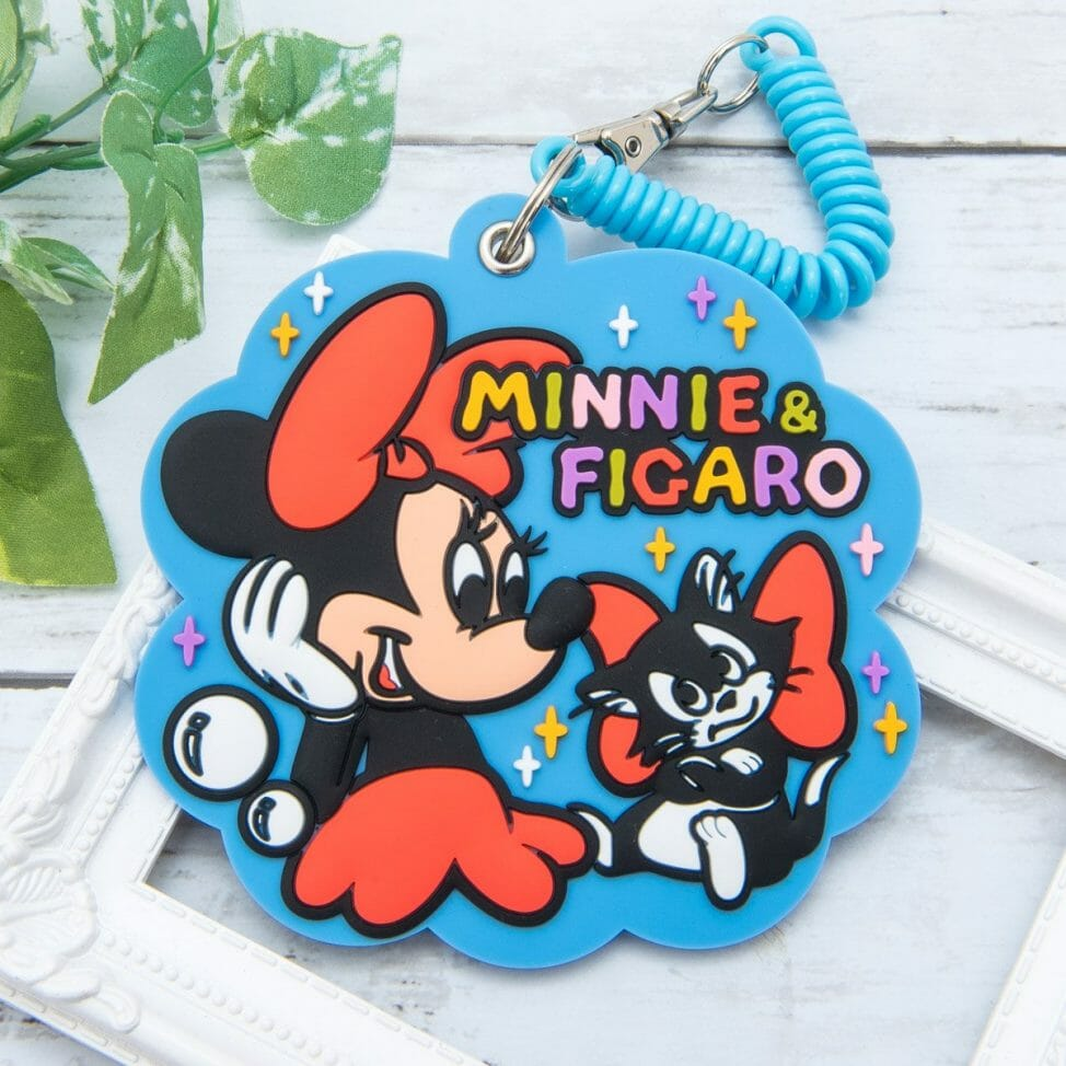 アイアップ ディズニー「ラバーパスケース」ミニーマウス
