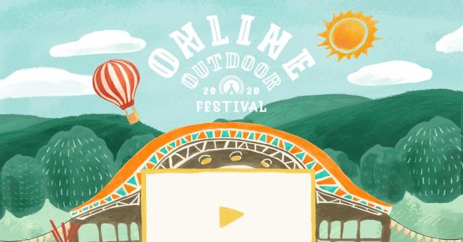 『hinata presents Online Outdoor Festival 2020』