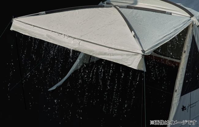 雨水が溜まらない