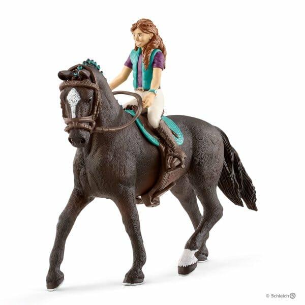 リサと馬のストーム