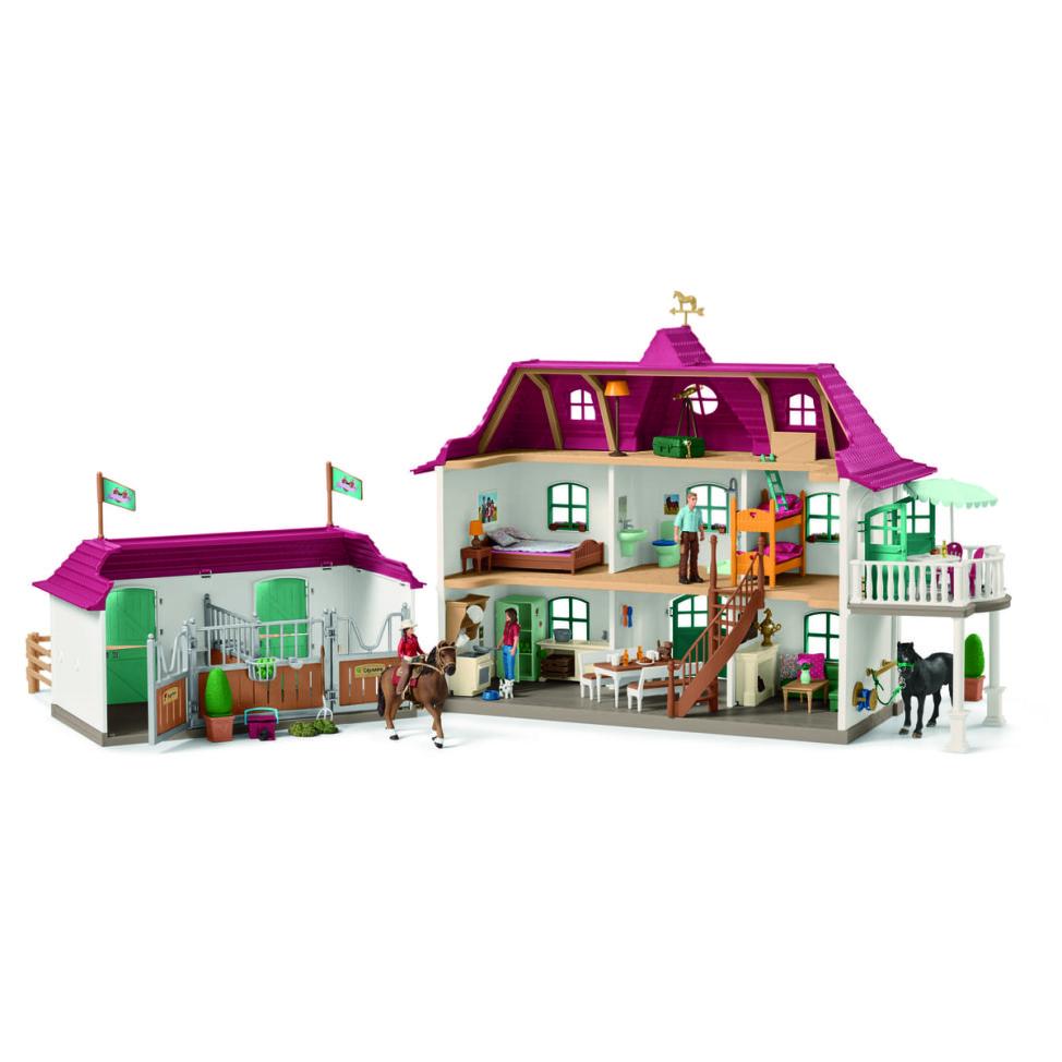 ホースクラブの大きなお家と馬小屋セット02