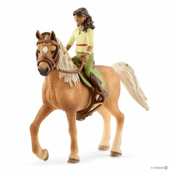 サラと馬のミステリー