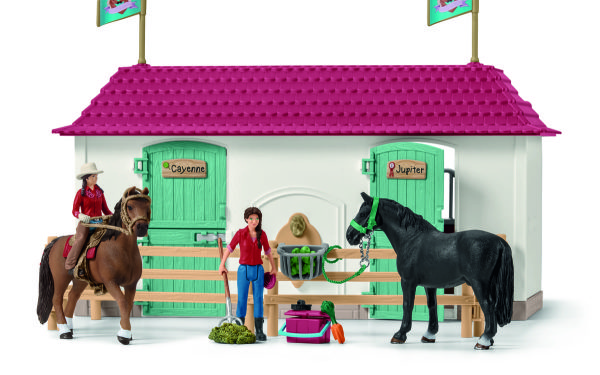 ホースクラブの大きなお家と馬小屋セット04