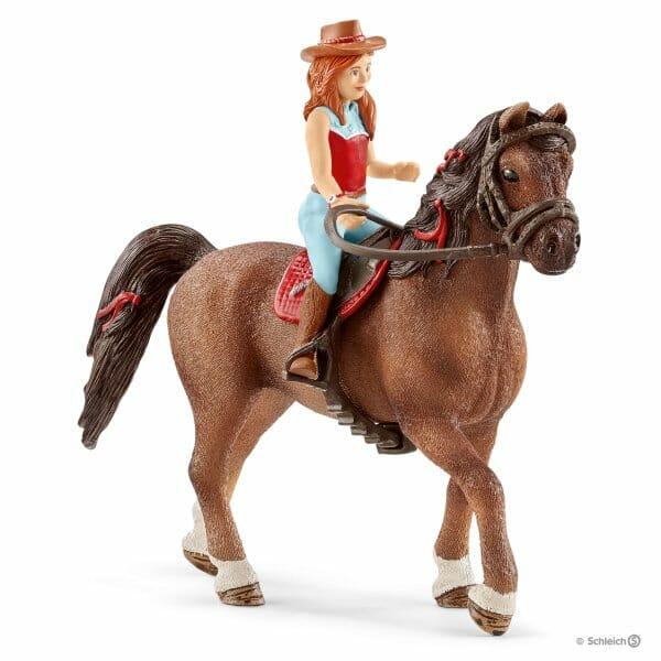 ハンナと馬のカイエン