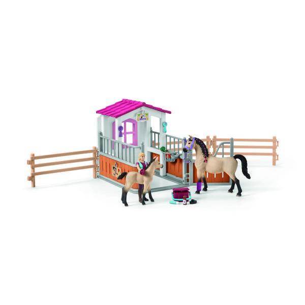 ホースボックス(アラビア馬とグルーマー付き)7