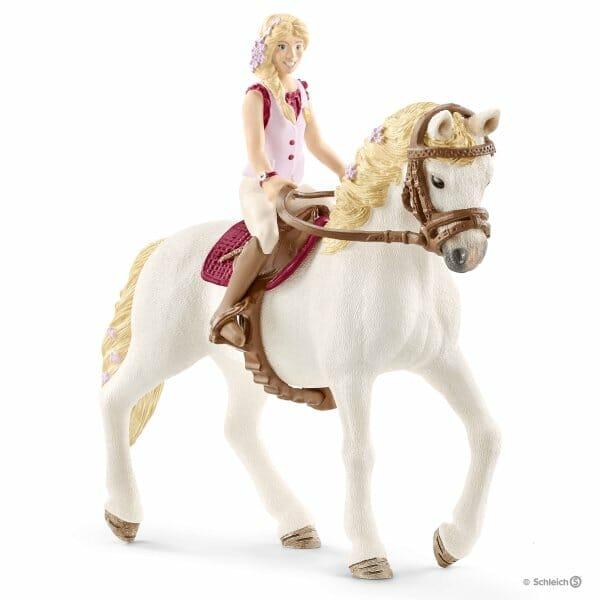 ソフィアと馬のブロッサム