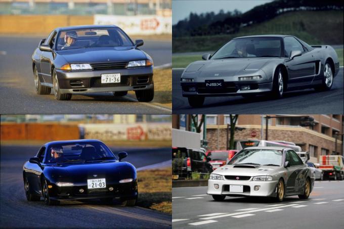 280馬力規制があるからメーカーもファンも白熱! 1990年代の熱すぎるスポーツカー6台