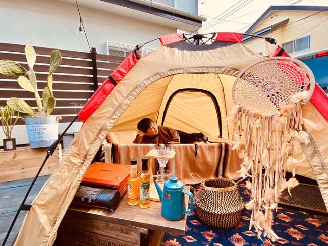 おうちキャンプ