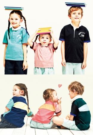 ラガーシャツ (95~130cm)9,680円  (140~160)10,780円  ※全て税込