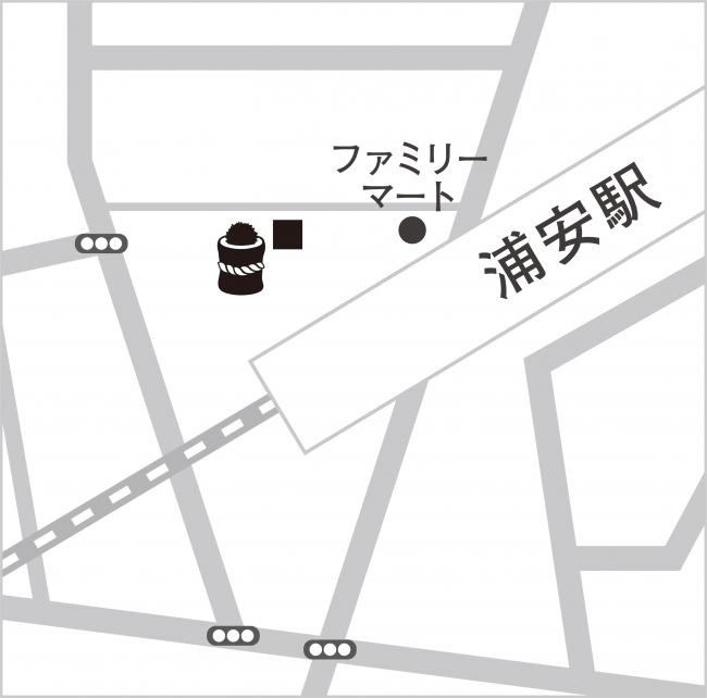 『杉玉 浦安』マップ